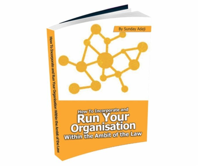 How To Incorporate and Run Your Organisation eCover